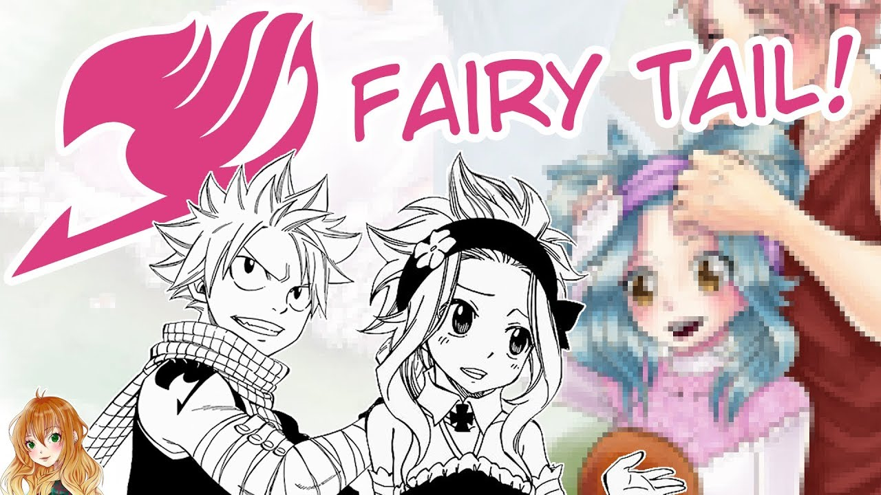 Download [SpeedPaint] Levy and Natsu? FanArt from Fairy Tail