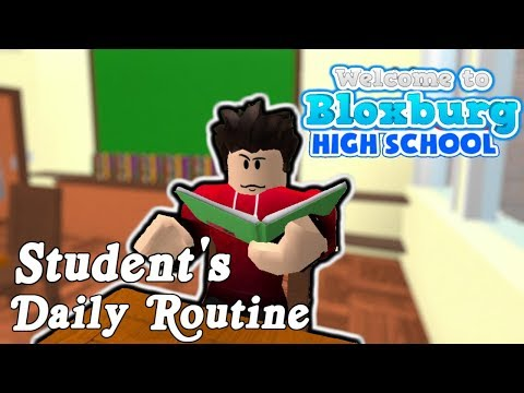 Welcome to Bloxburg: Student's Daily Routine | Roleplay