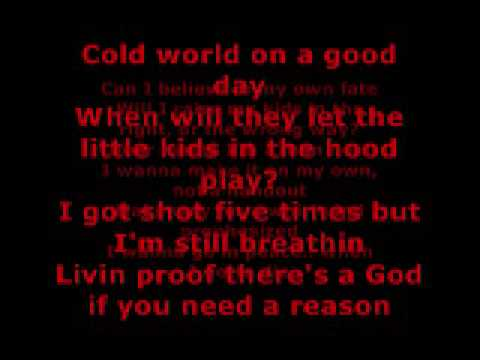 2PAC - LETTER TO MY UNBORN CHILD LYRICS