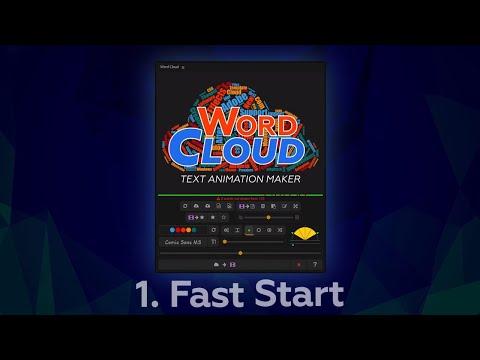 Word Cloud Fast Start Tutorial