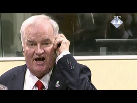 Mladić removed from court after angry outburst