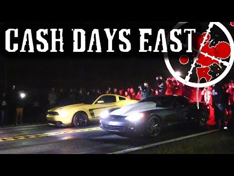 Street Racing SUPER TOURNAMENT - Cash Days East Goes CRAZY