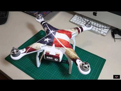 DJI Phantom 3 Decal Skin wrap