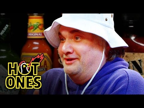 Artie Lange Is Raw and Uncensored While Eating Spicy Wings |