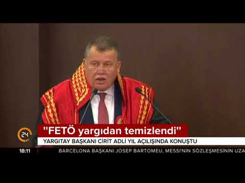 Yargıtay Başkanı Cirit, Adli Yıl Açılış Töreni'nde konuşma gerçekleştirdi