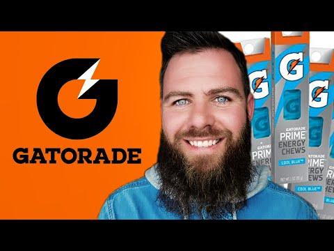 Gatorade Energy Chews Cool Blue 2020 Review