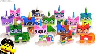 LEGO Unikitty collectible figure series review! All 12 Unikitty & Puppycorn
