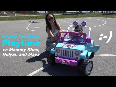 Disney Frozen Toy: Fisher-Price 12v Ride-On Power Wheels Outdoor Playtime