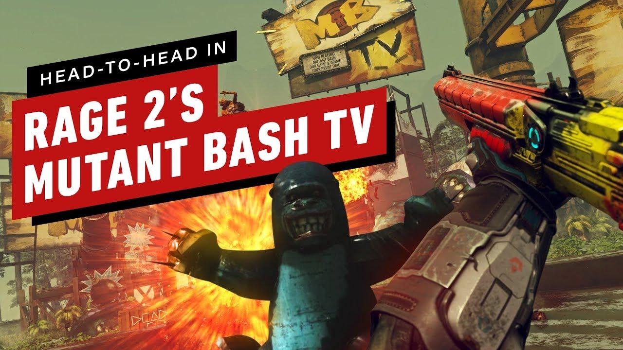 Wut 2: Kämpfe in Mutant Bash TV + video