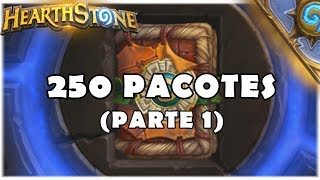 HEARTHSTONE - ABRINDO 250 PACOTES DO RINGUE DO RASTAKHAN! (PARTE 1)