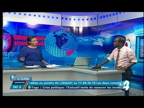Télé Djibouti Chaine Youtube : Edition de 15h du 17/11/2017