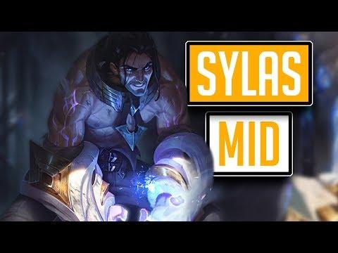 League of Legends #574: Sylas Mid (CZ/Full HD/60FPS) thumbnail