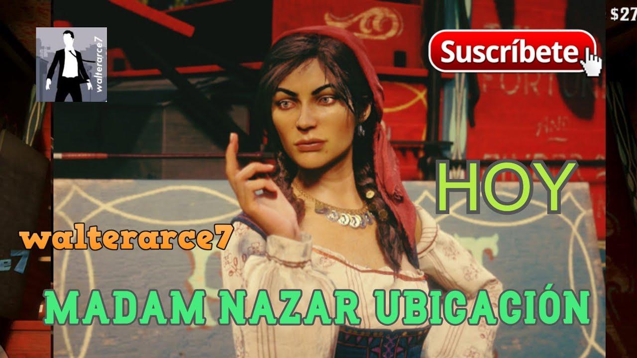 Madam Nazar Ubicación de Hoy 23/72021 Red Dead Online Madam Nazar Location Today July 23 Ath RDR2