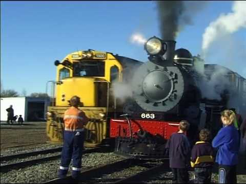 Steam Oil-Fired Locomotive (New Zealand Main Line)
