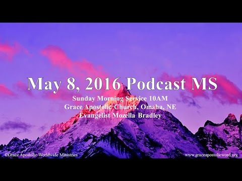 May 8, 2016 Podcast MS