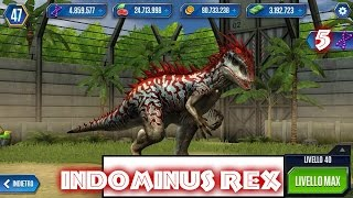 Jurassic World - LEVEL 40 INDOMINUS REX