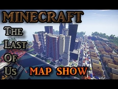 The Last Of Us In Minecraft Minecraft Map Show GermanDeutsch - The last of us minecraft map