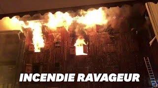 Baixar À Courchevel, les images de l'incendie meurtrier