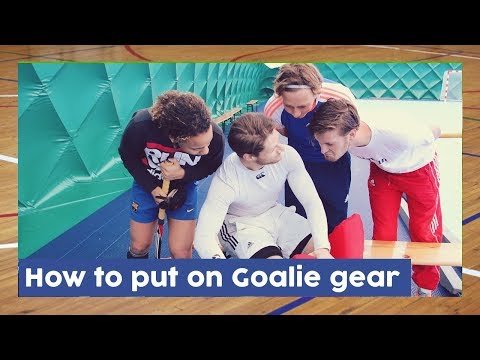 How To Put On Your Goalie Gear - Goalkeeper Gear | HockeyheroesTV