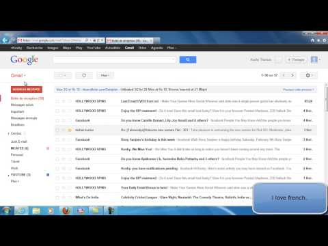 HOW TO CHANGE DISPLAY LANGUAGE IN GMAIL ACCOUNT