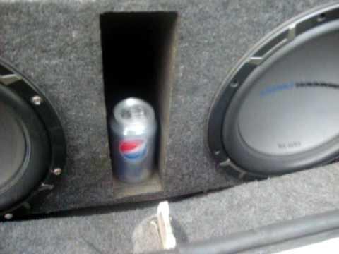 1996 Chevrolet Lumina Ls Sound System 2 12 Mtx Audio Jackhammer