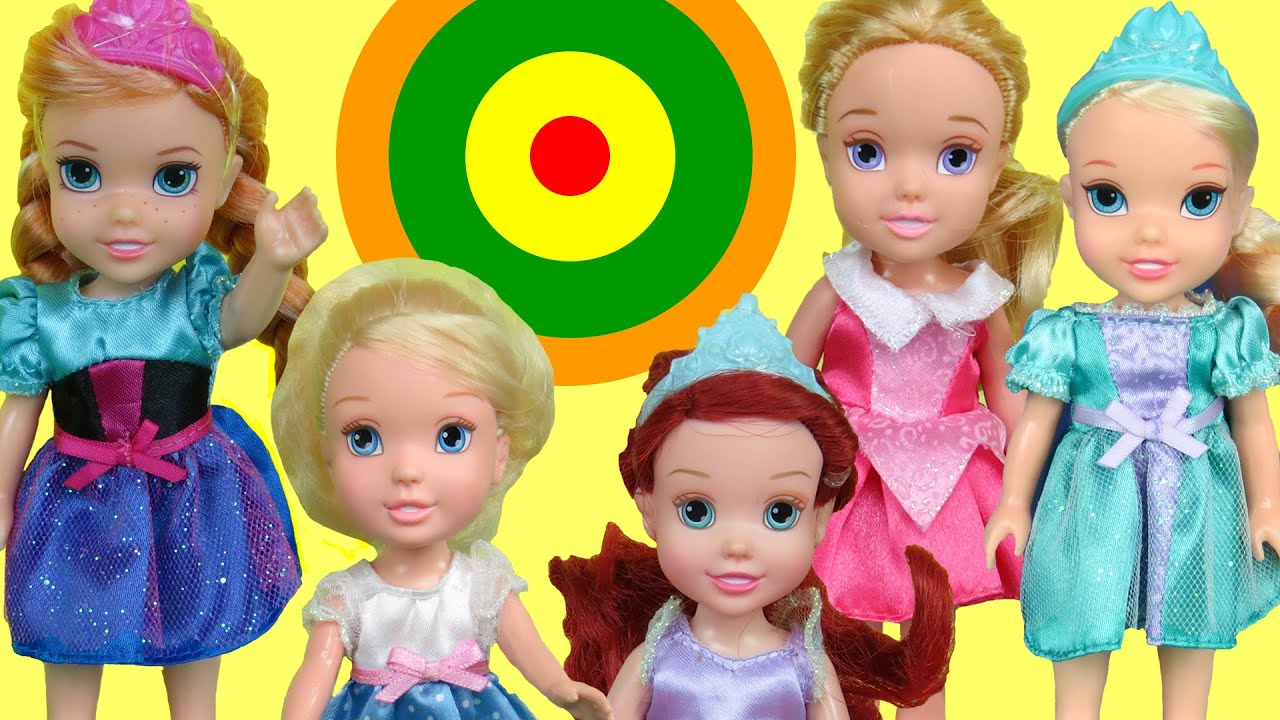 Bullseye Target Game Elsa And Anna Toddlers Amp Other Kids