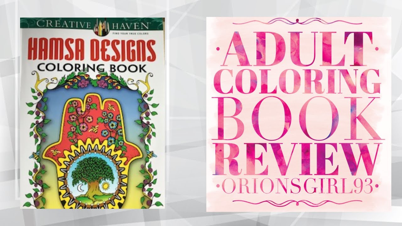 Hamsa Designs Coloring Book By Mary And Javier Agredo
