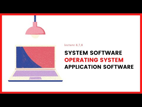 System Software Operating System Application Software Easy Guideline