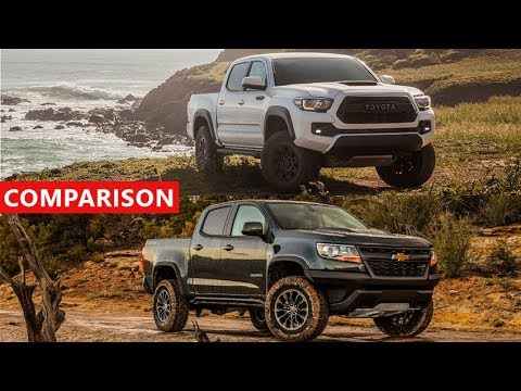 2017 chevrolet colorado zr2 vs 2017 toyota tacoma trd pro comparison interior exterior off. Black Bedroom Furniture Sets. Home Design Ideas
