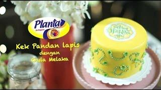 Kek Planta™ Pandan berlapis Gula ...