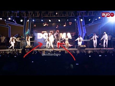 Balaa la Alikiba kwenye stage ya Fiesta Dodoma