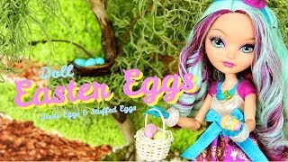 How To Make Doll Easter Eggs - Doll Crafts
