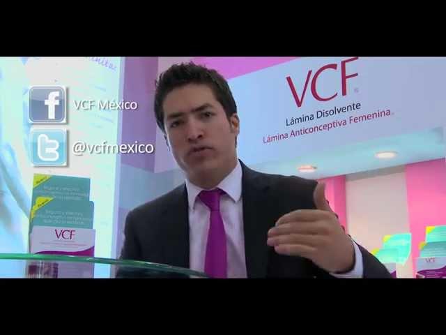 VCF Lamina Anticonceptiva Femenina  ESPERMICIDA