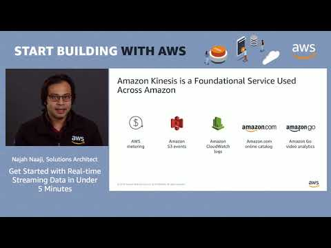AWS Quick Start - Get Started with Real-Time Streaming Data in Under 5 Minutes (Demo)