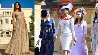 Priyanka Chopra's Appearances At The Royal Wedding Is A Sight To Behold