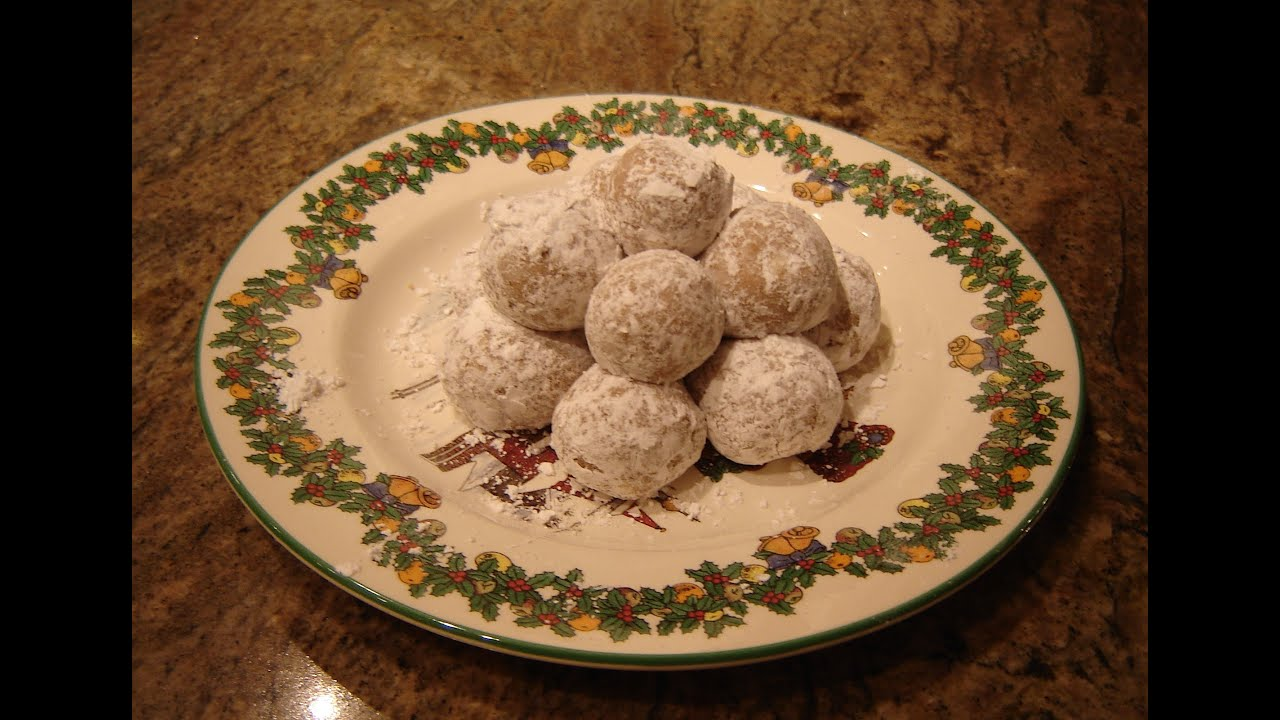 Peanut Butter Cookie Balls by DIANE LOVE TO BAKE - YouTube