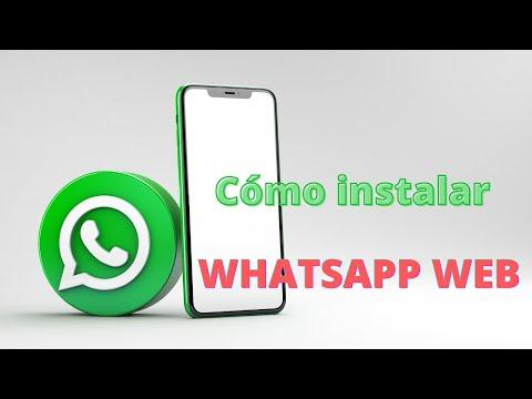 Cómo instalar WHATSAPP WEB 🎯 descargar Tutorial 2021 🟢