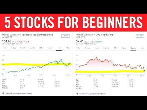Best Stocks For Beginners 📈 Top 5 Picks For 2019!