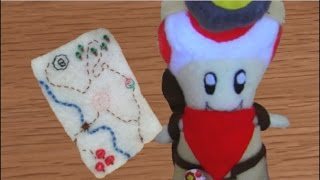 Make your own Captain Toad Plush
