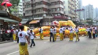 видео Фестиваль Тин Хау в Гонконге
