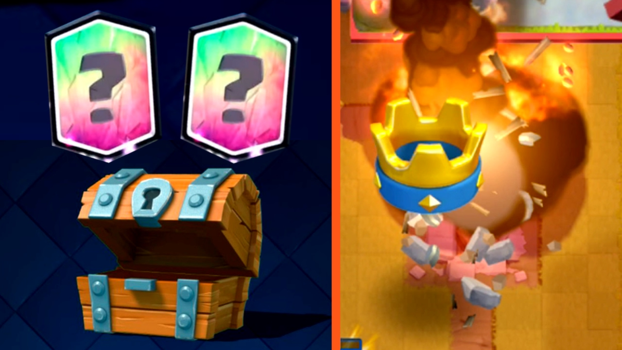 Clash royale free chest legendary crazy rocket deck for Clash royale deck arc x