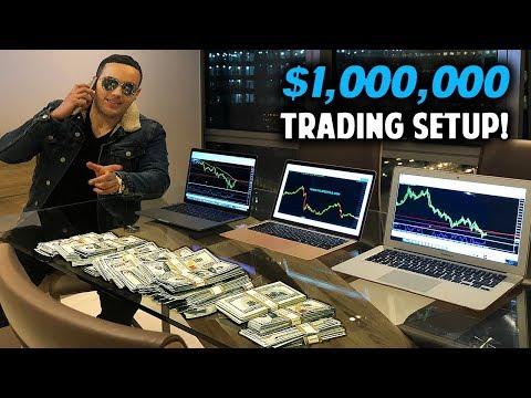 My $1.2 Million Dollar Forex Trading Setup!