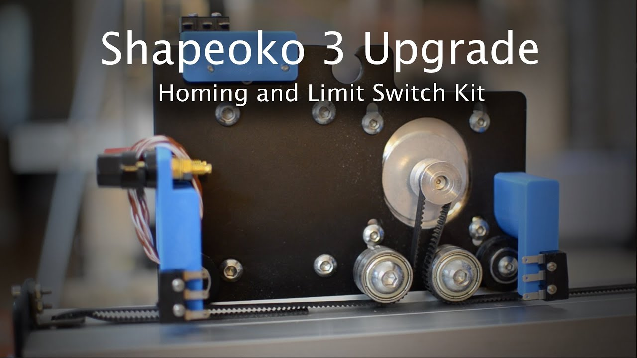 Installing a Homing and Limit Switch Kit - Shapeoko Project #48