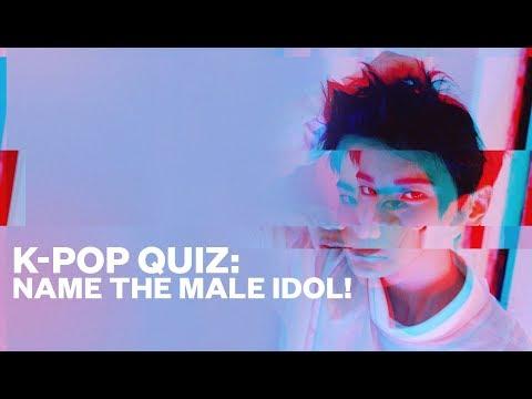 K-pop Quiz: Name The Male Idol!