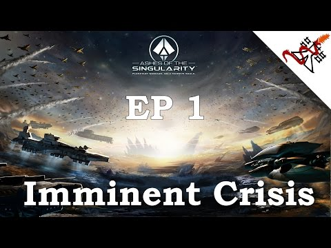 Ashes of the Singularity - Artorius - THE ENEMY's FLANK | Ep.1 Imminent Crisis - Ascendancy Wars |