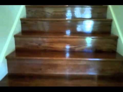 Rivestimento scala in legno in essenza rovere massello con for Rivestire una scala in legno