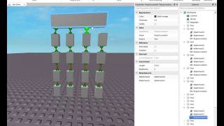 TUTORIAL : how to use ropes on roblox studio :D