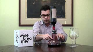 The 'Wine Breather' Wine Decanter