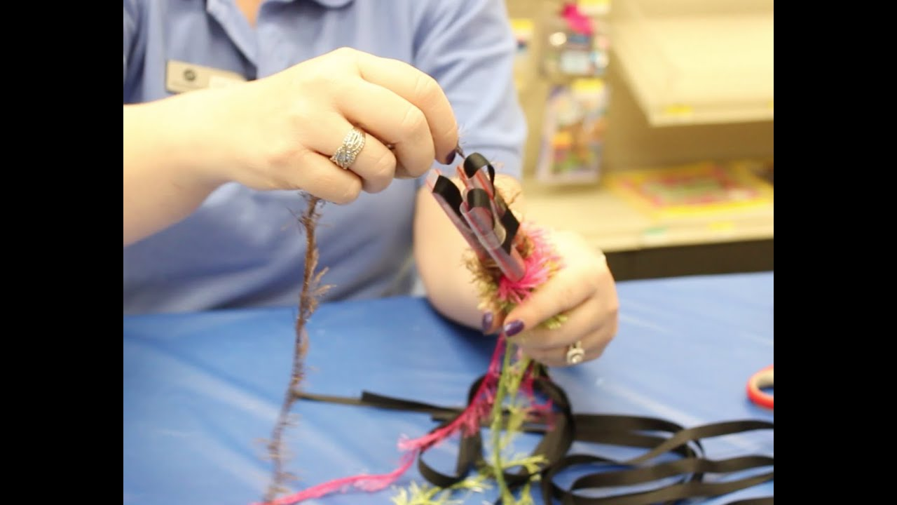 Crankin Out Crafts Ep474 3 Straw Round Lei Youtube