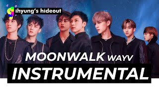 Download lagu [DOWNLOAD] WayV - Moonwalk (70% Official Instrumental)